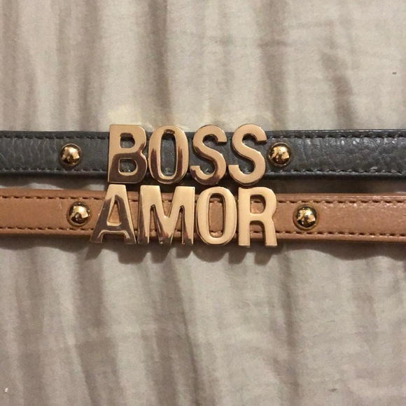 BCBGeneration Jewelry - Boss and amor bracelets